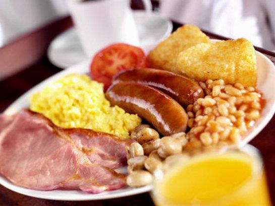Здравословна английска закуска