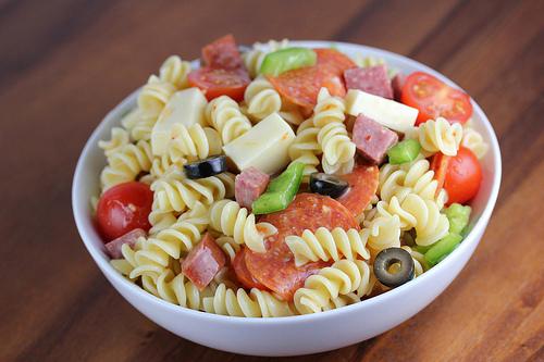 Италианска салата - продукти