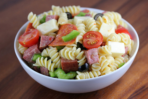 Италианска салата - начин на приготвяне